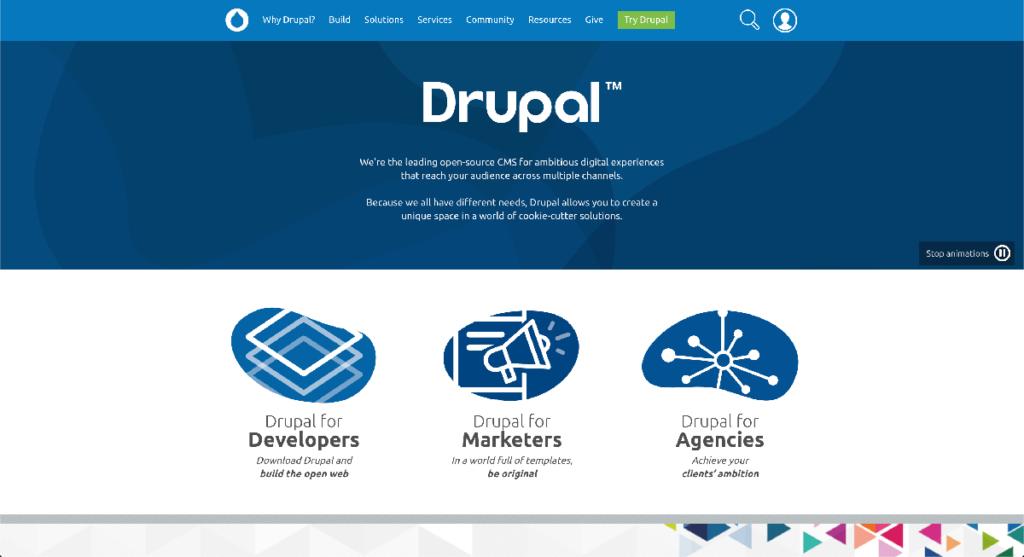 Drupal (ドゥルーパル) 公式サイト