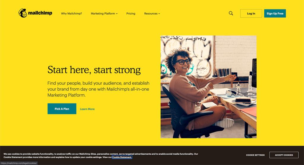 mailchimp (メールチンプ) 公式サイト
