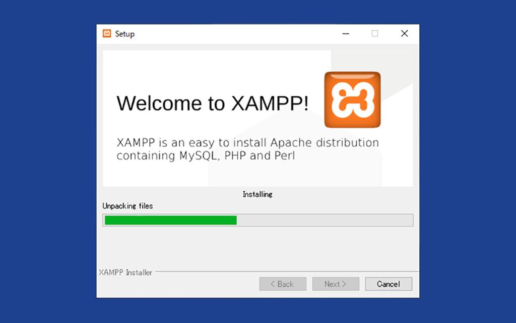 XAMPPのインストール画面5